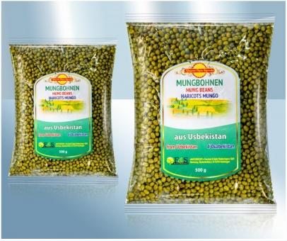 grüne Mungbohnen Mungbohne Бобы Мунг Маш 5,98€/kg
