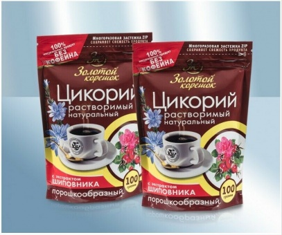 Zichorienkaffee mit Hagebutten цикорий растворимый с шиповником 29,90€/kg