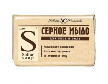 1 x Schwefelseife Schwefel Seife gegen unreine Haut Akne Pickel Серное мыло 22,11€/kg