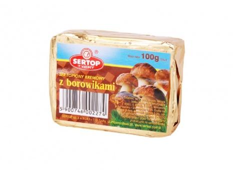 2 x Schmelzkäse Käse mit Steinpilzen сыр плавленый с боровиками 12,45€/kg