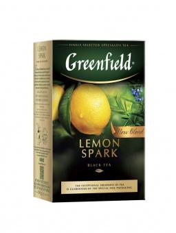 Greenfield Schwarz Tee mit Zitrone 100g lose черный чай с лимоном 29,90€/Kg