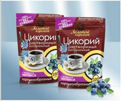 Zichorienkaffee Zichorie mit Heidelbeeren цикорий растворимый с черникой 29,90€/kg