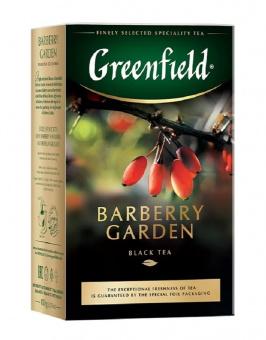 Greenfield Schwarz Tee mit Berberitzen 100g lose черный чай с ягодами барбариса 39,90€/Kg