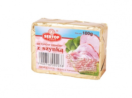 2 x Schmelzkäse Käse mit Schinken сыр плавленый с ветчиной 12,45€/kg