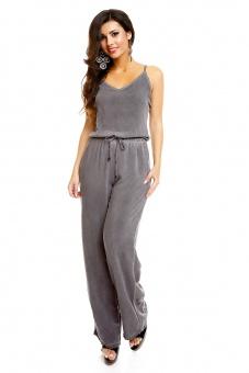 Damen Overall mit weitem Bein Batik Look