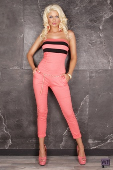 Bandeau Overall lang coralle