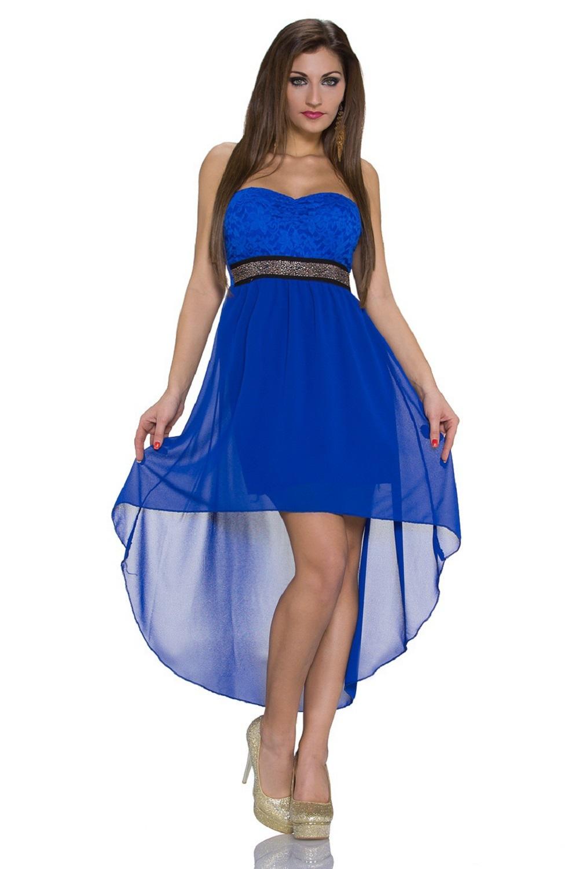Kleid vokuhila blau – Stylischer Kleider